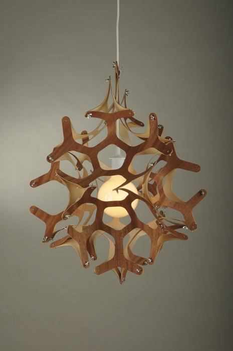 Лампа, которая согреет своим теплом и подарит окружающим частичку света.