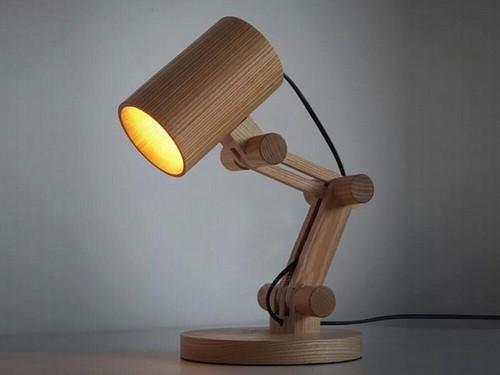 Светильник из дерева своими руками.