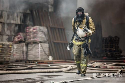 В пожаре пострадали два человека. Фото из архива НГС