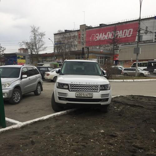 «Я паркуюсь как чудак»: Range Rover 001 -гадить наше призвание