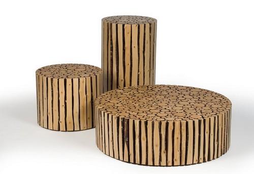 Дерево – натуральный и экологически чистый материал, который подойдёт любителям экостиля.