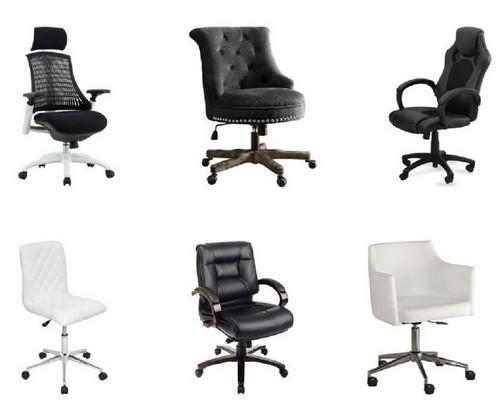 Выбирайте стул, который обит гигроскопичной тканью – она будет легко впитывать влагу и даже после долгого сидения не станет липнуть к телу.