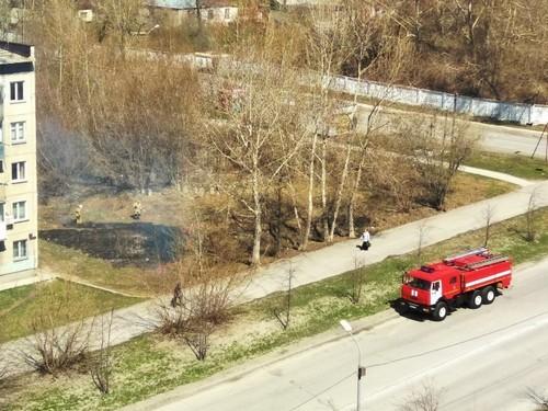 Пожарных вызвали на Печатников около 12:00