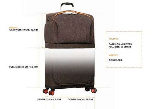 Поместится в такой чемодан все.
