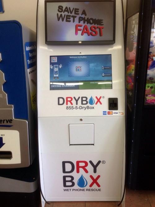 Автомат для сушки телефонов.
