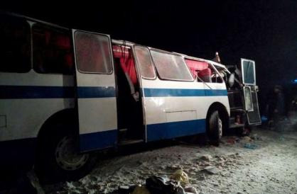 Завершилось расследование по крупной аварии на 240 км трассы «Чуйский тракт», в которой погибло и пострадало 32 человека