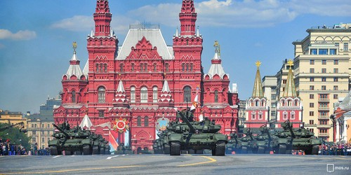Some of the military might that will be on display May 9 in Moscow.