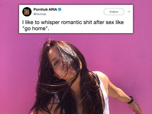 pornhubs witty tweets are riding on top 30 photos 18 Pornhubs raunchy tweets are riding on top (30 Photos)