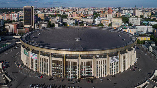 Moscow's Olympiisky Stadium, built for the 1980 Summer Olympics, is now a mall.