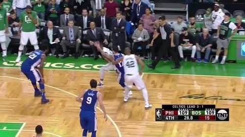 Celtics survive nailbiter against 76ers to make Eastern Conference finals