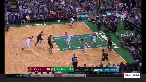 Celtics win again at home to put Cavaliers on brink in NBA playoffs