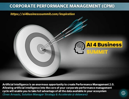 Corporate performance management – the impact and role of AI and new technologies
