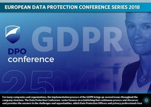 European data protection conference and congress series 2018 - data protection officer DPO conference