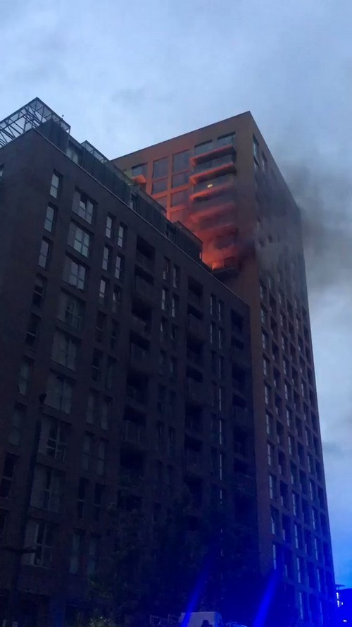 Fires break out in towers in Lewisham and Glasgow on Grenfell anniversary