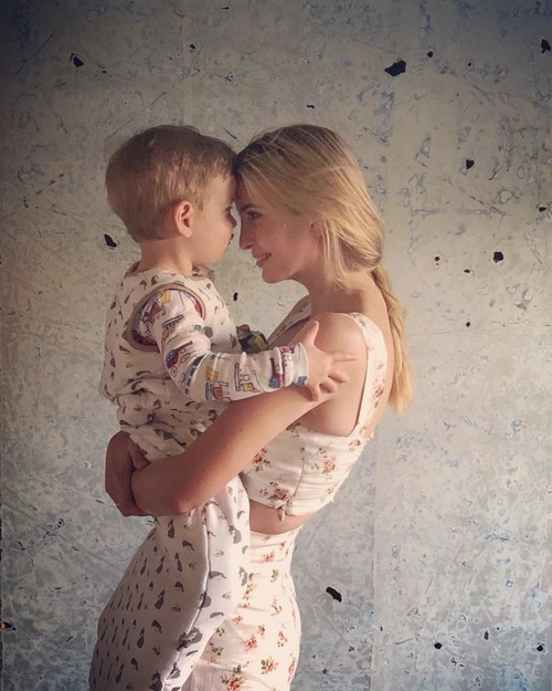 Ivanka Trump photo with son sparks backlash over separations at border