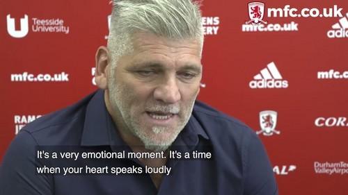 Middlesbrough v Aston Villa given added poignancy by Percovich return