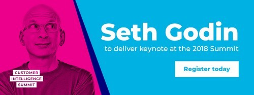 Seth Godin - Customer Intelligence Summit 2018