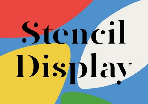 10 Fresh Font Styles for You to Use in Your Designs - Stencil Display