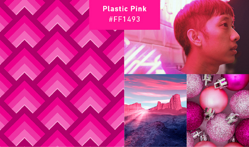 2019 Color Trends – Plastic Pink