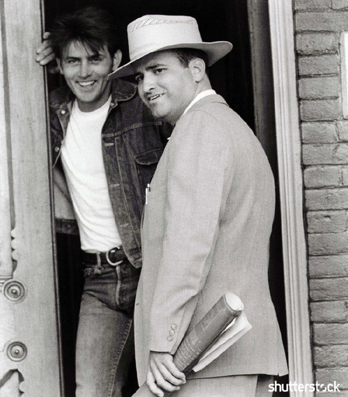 8 Iconic Movies from the New Hollywood Era, in Photos - Terrence Malick and Martin Sheen