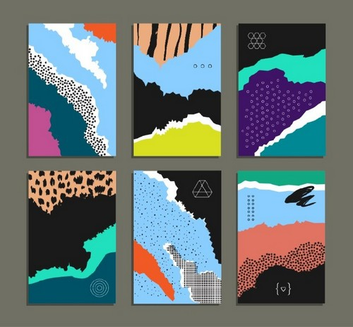 Top 10 Print Design Styles to Know About for 2019 - Abstract and Painterly Backgrounds