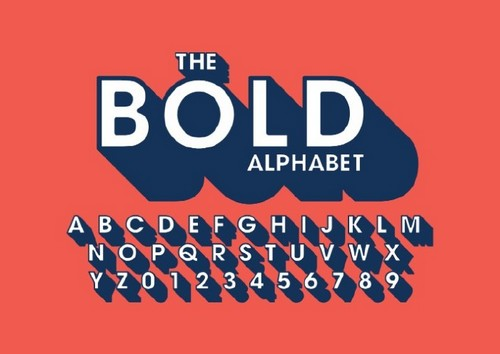 Top 10 Print Design Styles to Know About for 2019 - 3D Typography