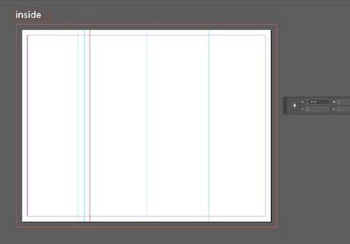 A Beginner's Guide to Creating Gate Fold Flyers in Adobe InDesign - Inner Margins