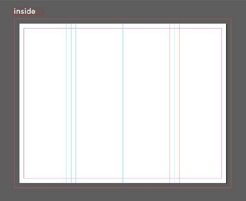 A Beginner's Guide to Creating Gate Fold Flyers in Adobe InDesign - Margins Around Inner Folds