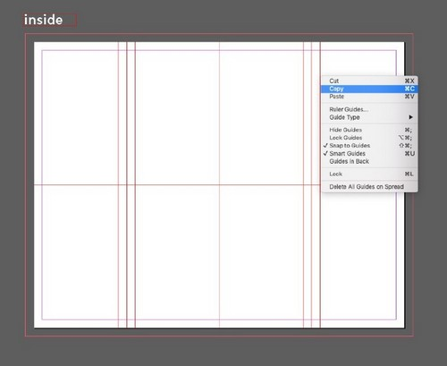 A Beginner's Guide to Creating Gate Fold Flyers in Adobe InDesign - Copy Guides