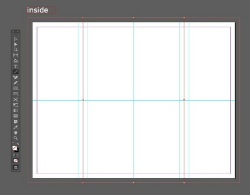 A Beginner's Guide to Creating Gate Fold Flyers in Adobe InDesign - Line Tool