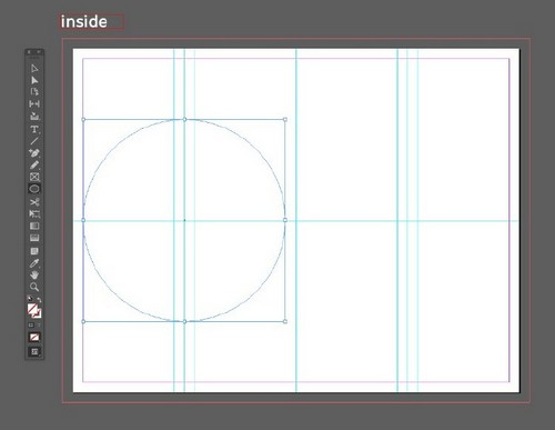 A Beginner's Guide to Creating Gate Fold Flyers in Adobe InDesign - Ellipse Tool
