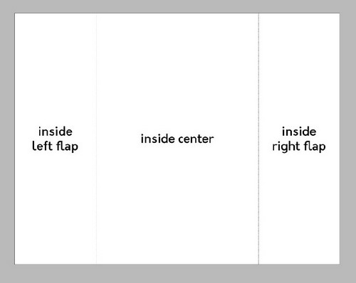 A Beginner's Guide to Creating Gate Fold Flyers in Adobe InDesign - Page One
