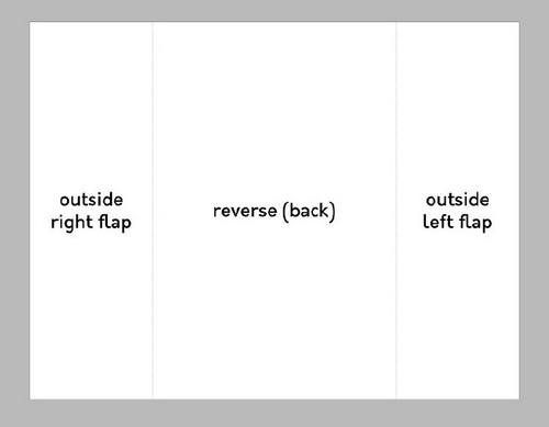 A Beginner's Guide to Creating Gate Fold Flyers in Adobe InDesign - Page Two