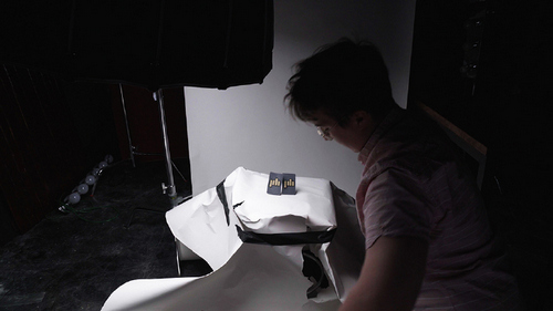 Avoiding Mistakes on Set: How to Properly Set Up A Product Photoshoot - Destroyed Backdrop