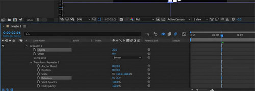 How to Create Anime-Style Speed Lines in After Effects - Creating Multiple Lines