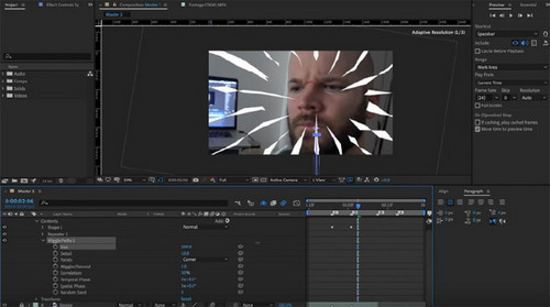 How to Create Anime-Style Speed Lines in After Effects - Animate the Lines
