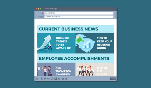 How to Make the Best Employee Newsletter – Story Cards