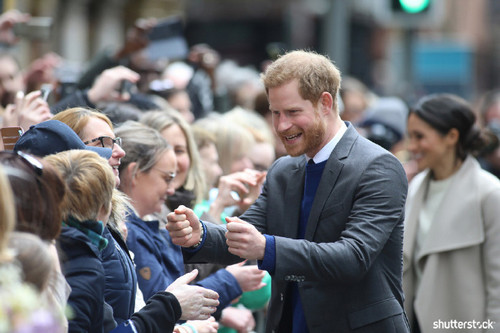 Prince Harry and Meghan Markle: The Year in Review - Harry in Belfast