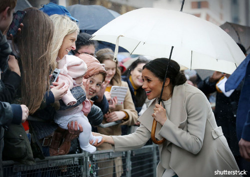 Prince Harry and Meghan Markle: The Year in Review - Meghan in Belfast fans