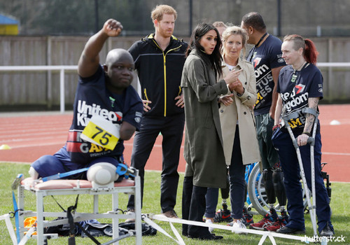 Prince Harry and Meghan Markle: The Year in Review - Trials for the Invictus Games