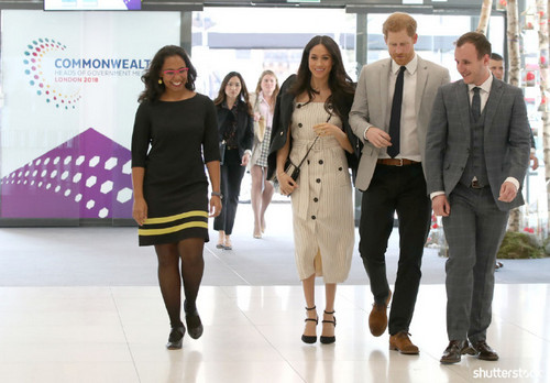 Prince Harry and Meghan Markle: The Year in Review - Commonwealth Heads of Government Meeting