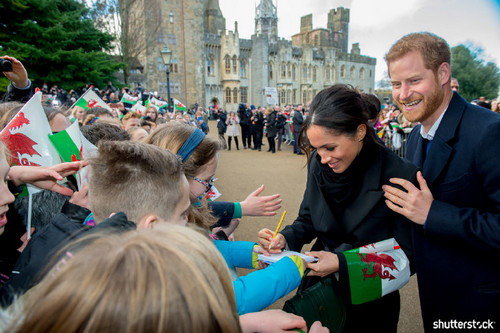 Prince Harry and Meghan Markle: The Year in Review - Visit to Cardiff, Wales