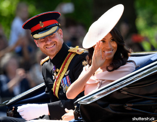 Prince Harry and Meghan Markle: The Year in Review - Trooping the Colour