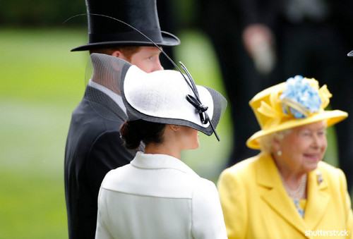 Prince Harry and Meghan Markle: The Year in Review - Royal Ascot Queen