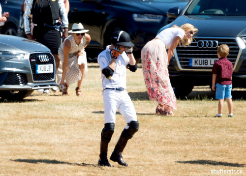 Prince Harry and Meghan Markle: The Year in Review - Tusk Audio Polo Challenge