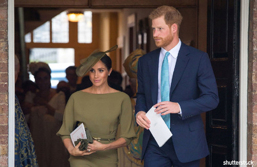 Prince Harry and Meghan Markle: The Year in Review - Christening of Prince Louis
