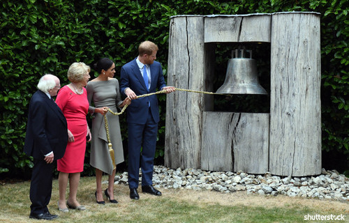 Prince Harry and Meghan Markle: The Year in Review - Ringing Irish Bell