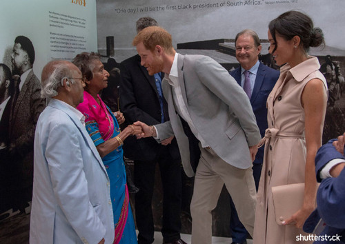 Prince Harry and Meghan Markle: The Year in Review - Nelson Mandela Centenary Launch