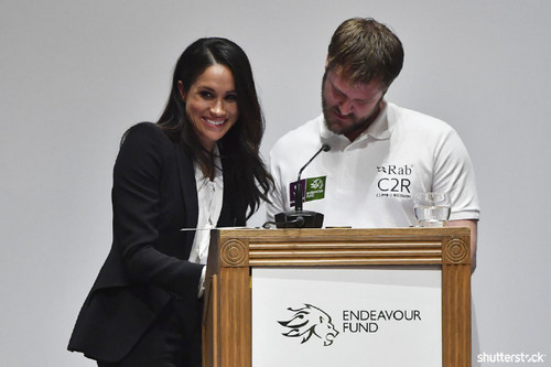 Prince Harry and Meghan Markle: The Year in Review - Meghan at Endeavor Funds Awards