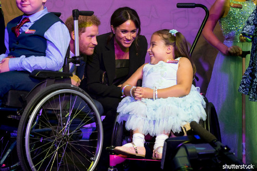 Prince Harry and Meghan Markle: The Year in Review - At the Wellchild Awards
